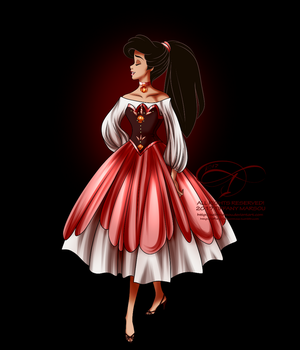 Disney Haut Couture - Melody by selinmarsou