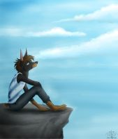 :Melancholy: by BrownWolF-Ann