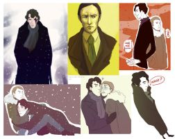 Sherlock BBC scetches by Gregory-Welter