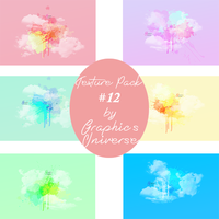 Texture Pack #12 Watercolor by Graphic's Universe by GraphicsUniverse