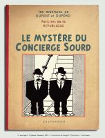 Les Dupondt in Le mystere du Concierge Sourd by Bispro