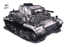 Panzer II Ausf. J by TimSlorsky