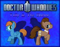 Doctor Whooves: Tally and The Docter - Wallpaper by darksoma905