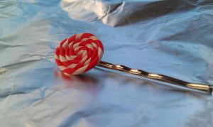 Candy Swirl Bobby Pin by Gynecology
