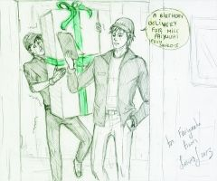 Birthday delivery for ... by Sanzo-Sinclaire