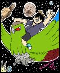 JonTron on Jacques from Space by FlutterAnderson