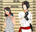CM: Kelsey and Rei Height Chart by Chloeeh
