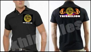 TGP TRISKELION FRATSHIRT IN POLO SHIRT by khingfiles