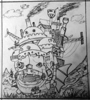 howls moving castle by RichardNewlands