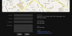 Contact Form with HTML Details by flashdo