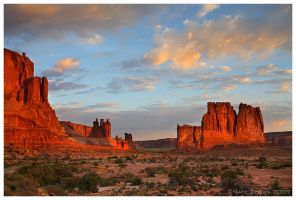 First Light in Arches by Nate-Zeman