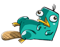 Perry The Platypus by mayu