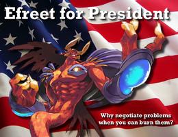 Well, Who Would YOU Vote For? by Nightfoot
