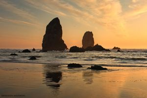 Cannon Beach - Needles 3 by pyro303