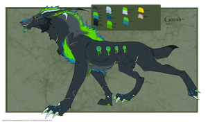 .: Gozah: 2012 Ref sheet (Revamped):. by Dunkin-Prime