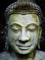 Buddha Face by Chestbearman