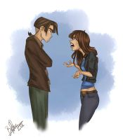 Request: Jim and Jessica by BoffieXD