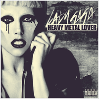 Lady GaGa - Heavy Metal Lover CD Cover by GaGanthony