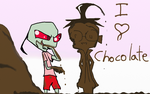 1 2 3... chocolate by AND888