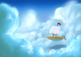 Pirate on the cloud by joelee88