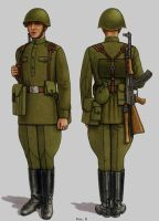 Soviet Army Uniforms 23 by Peterhoff3
