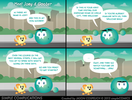 SC501 - Meet Joey n' Goober by simpleCOMICS