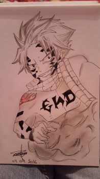 Natsu Dragnir Mode END by Bloodtiesss
