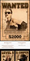 Wanted Poster Template [Premium] by elementj
