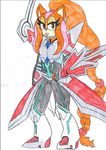 Sunstone Cosplaying as ZEXAL II by Sunstone-TF