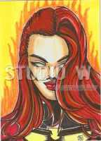 Jean Grey Dark Phoenix PSC by IanDWalker