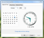 Vista Date and Time Preview by Picassa243