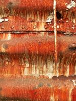 Rusting Boxcar, close-up by Azraphale