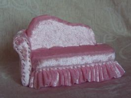 Pink sofa by RevelloDrive1630