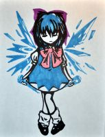 Sharpie Cirno by chakupuchi