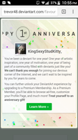 1 Year by KingSexyStudKitty