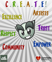 Community Relations - CREATE by BackAlleyScrapper