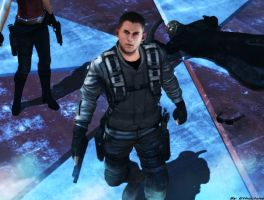 Resident evil wallpaper - Chris Redfield Afterlife by ethaclane