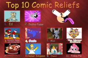 top 10 comic reliefs meme 1 by DaJoestanator
