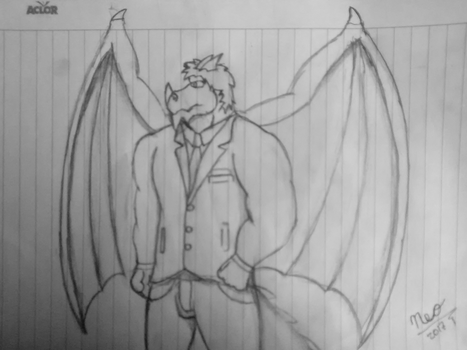 .:Personal:. Neo whit his suit by Neofactory02