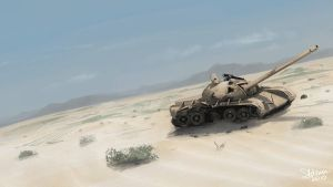 Speed Painting - Old Tank by LJFHutch