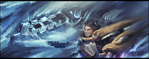 Steel Garen LoL tag by mirzakS