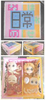 Nendoroid storage box - Hakase and Nano by Marsharino