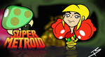 Super Metroid title card by Tricycloplots