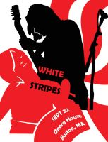 white stripes in boston by contraster