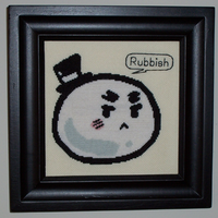 Mochi England Cross Stitch by chujo-hime