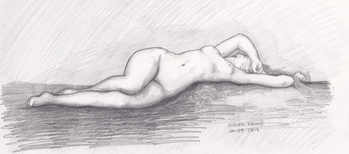 Birth Of Venus after Alexandre Cabanel by myconius