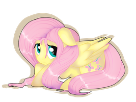 Fluttershy. by sofilut