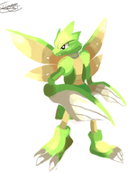 Scyther by LizardonEievui13