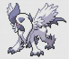 359.1 Mega Absol by Electryonemoongoddes