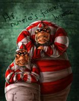 Alice madness returns - Tweedles by LadyFiszi